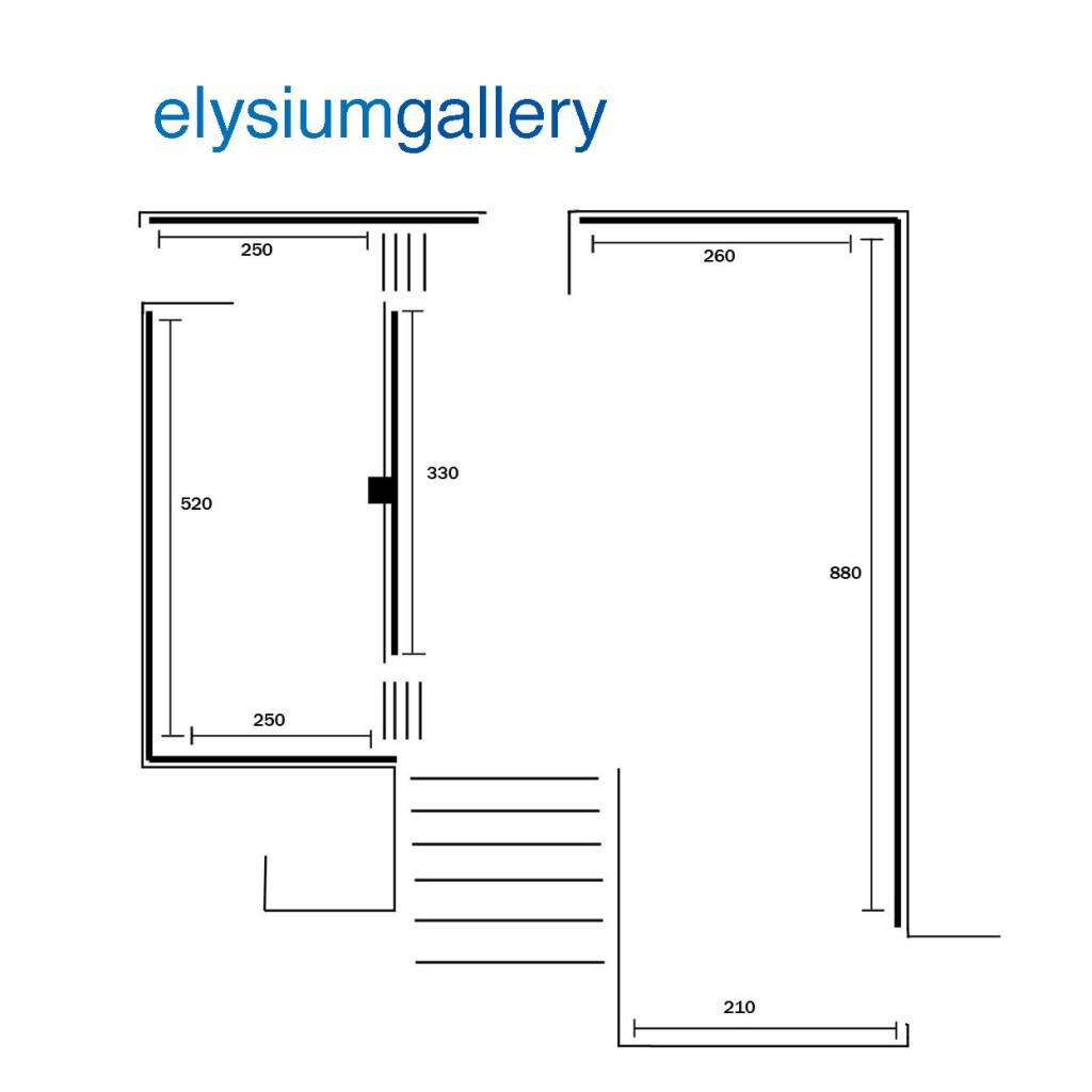 Barons Gallery floorplan no walls